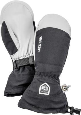 Army Leather Heli Ski Mitten Noir