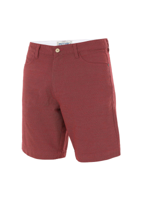 Aldo Chino Shorts Burgundy