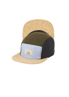 89c3634be6c Picture Organic Clothing Wheathfields Cap Kaki Black Wool   Hats    Snowleader