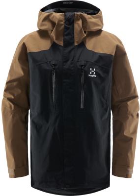 Elation GTX Jacket Men True Black/Teak Brown