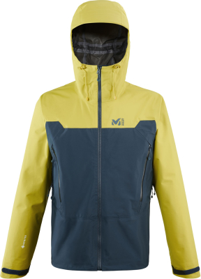 Kamet Light GTX Jkt M Orion Blue/Wild Lime