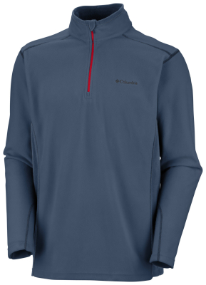 Klamath Range II Half Zip M Dark Mountain/Red Spark