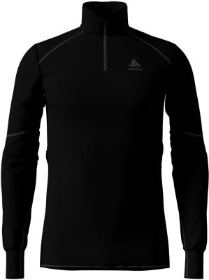 Tee Shirt ML X Warm Zip Black
