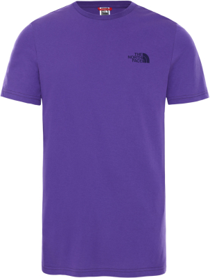 M S/S Simple Dome Tee Peak Purple