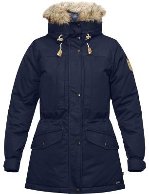 Singi Down Jacket W Dark Navy