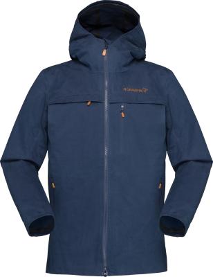 Svalbard Cotton Jacket (W) Indigo Night