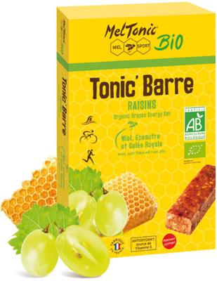 Etui 5 Tonic'Barres Bio - Raisins