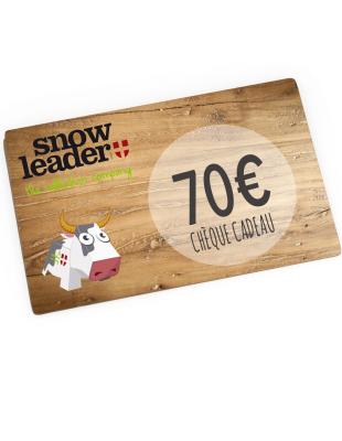 70¤ Snowleader Gift Card