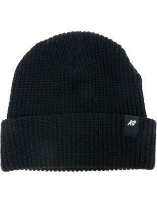 Knit Cuff Beanie Black