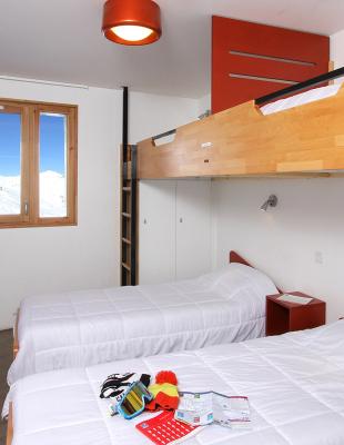 Pack tout compris 2 nuits pour 1 personne en chambre de 4 Mountain Test