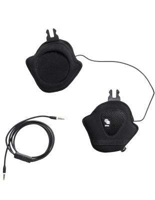 Auric Cut Communication Headset Uranium Black