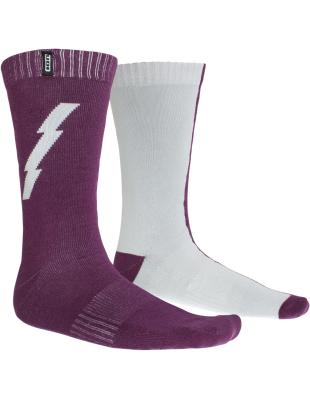 Socks Scrub Nebula Grey