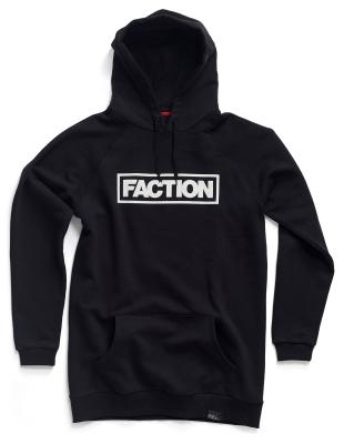 e81d61f9 Faction Tall Hoodie Black/White : Hoodies : Snowleader
