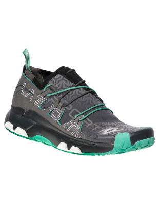 7f1c39e7f68 La Sportiva Unika Woman Carbon Jade green   Women s Trail Running Shoes    Snowleader