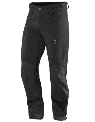 Rugged II Mountain Pant True Black Solid