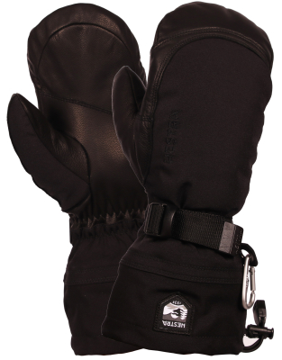 Army Leather Extrem Mitten Noir