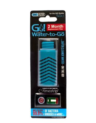 Filtre bleu pour gourde Water-To-Go City
