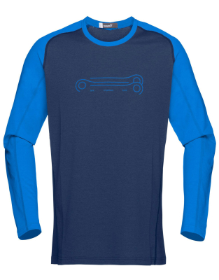 0af6816d7 Norrona Fjora Equaliser Lightweight Long Sleeve (M) Indigo Night ...