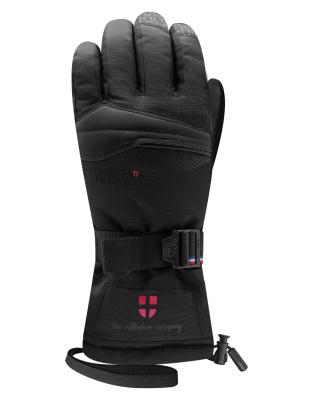 Graven 4 Snowleader Gloves Black Leather