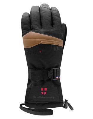 Graven 4 Snowleader Gloves Brown Leather