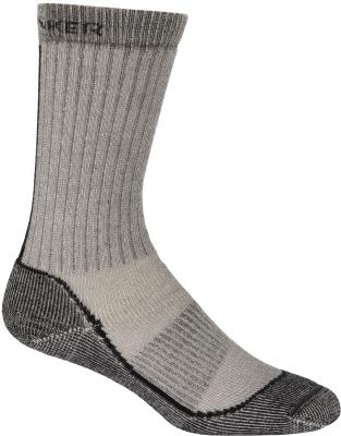 Socks Outdoor Mid Crew W Oil/Silver/Black