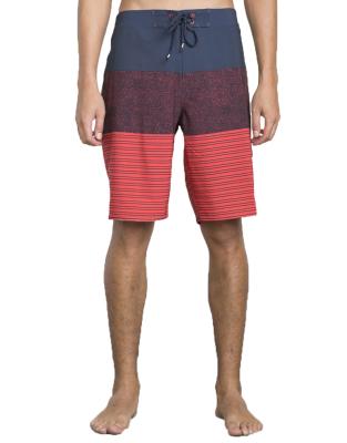 Sinner Stripe Trunk 18 Boardshort Federal Blue