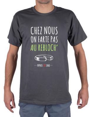 T-Shirt Chez Nous On Farte Pas Au Rebloch