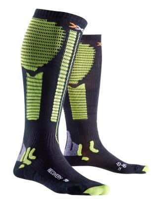 Socks Pre Recuperation Noir/Acid