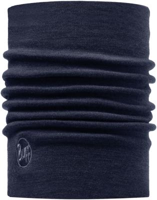 Heavyweight Merino Wool Solid Denim