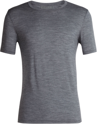 Mens Tech Lite SS Crewe Gritstone Heather
