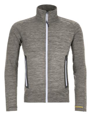 Fleece Light Melange Jacket M Grey Blend