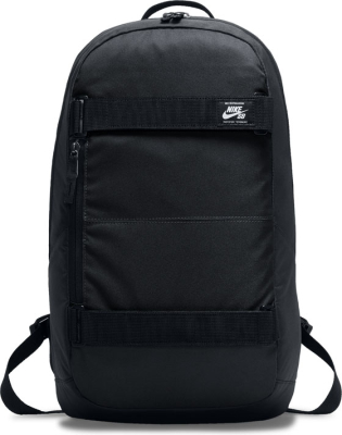 SB Courthouse Backpack Black/White