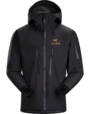 Alpha SV Jacket Men's 24K Black