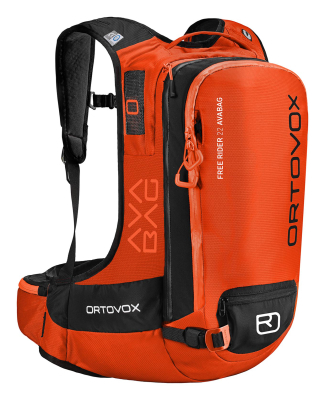 Free Rider 22 Avabag Kit Crazy Orange