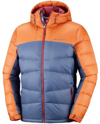 mitad de descuento 14b58 62a44 Quantum Voyage II Hooded Jacket M Dark Mountain/Bright Copper