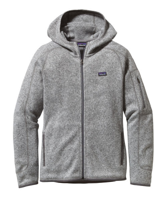 W's Better Sweater Hoody Birch White