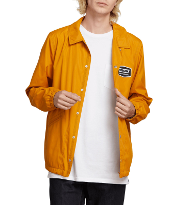 Brews Coach Jacket Camel