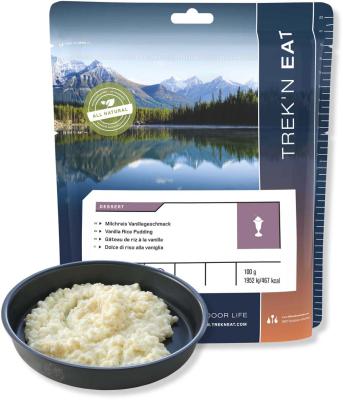 Gateau de riz à la vanille