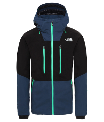 M Anonym Jacket Tnf Black/Blue Wing Teal