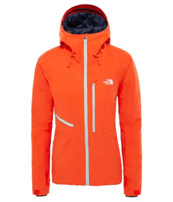 e394c93ad9c5 The North Face W Lostrail Jacket Valencia Orange   Ski jackets ...