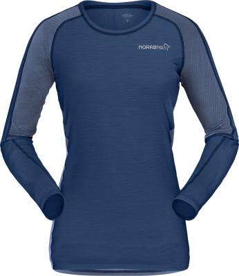 Bitihorn Wool Shirt (W) Indigo Night