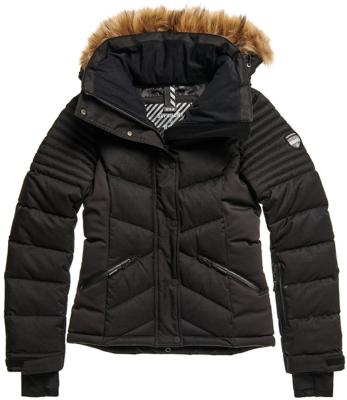 Snow Luxe Puffer W Black