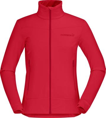 Falketind Warm1 Stretch Jacket W'S True Red