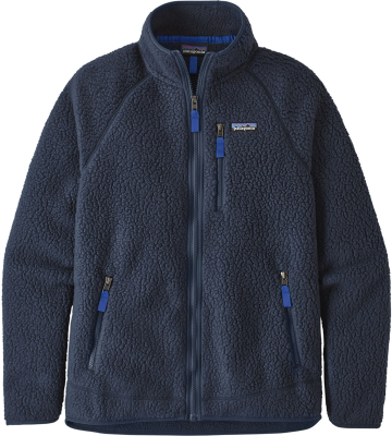 M's Retro Pile Jkt New Navy