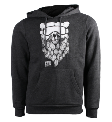 Rancho Ours Hoody Dark Grey Heather