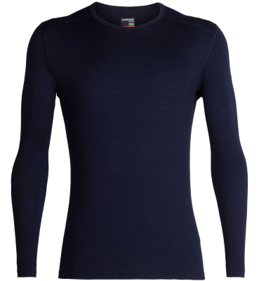 Mens 200 Oasis LS Crewe Midnight Navy