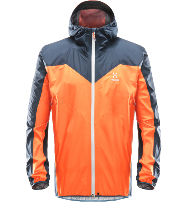 L.I.M Comp Jacket Men Cayenne/Tarn Blue