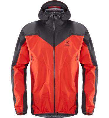L.I.M Comp Jacket Men Pop Red/Slate