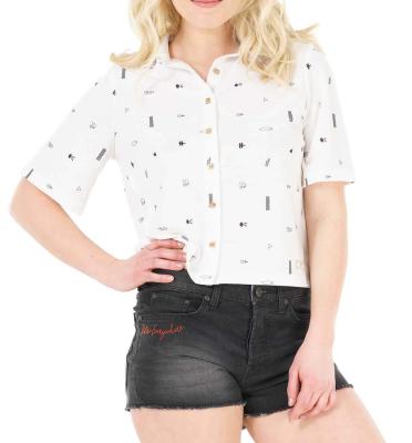 Amber Shirt Print Picto