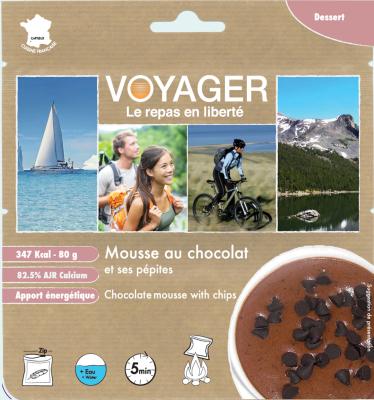 Mousse Au Chocolat Et Ses Pepites Sans Gluten 80g